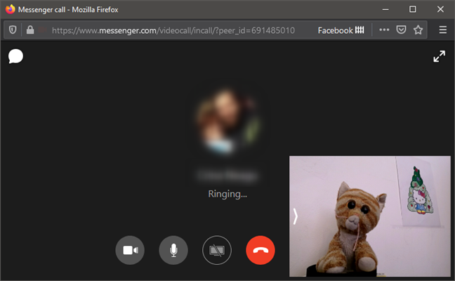 Using an Android phone as a webcam on Facebook Messenger on PC