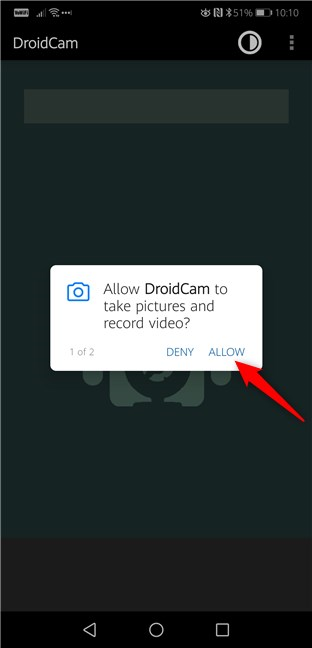 Camera and Microphone permissions required in Android