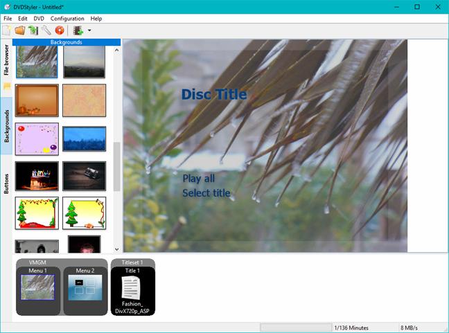 Windows, DVD Maker, alternatives, create, DVD, movies