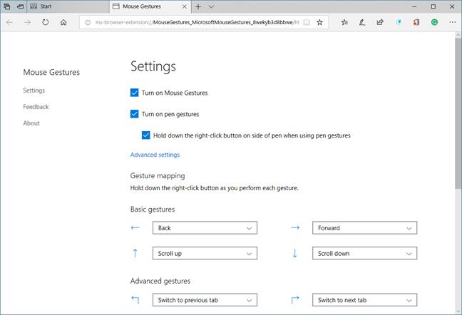 Microsoft Edge, Windows 10, add-ons, extensions