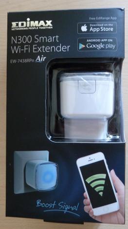 Edimax N300, Wi-Fi Extender, wireless, EW-7438RPn, range