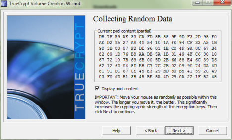 TrueCrypt Volume Creation Wizard