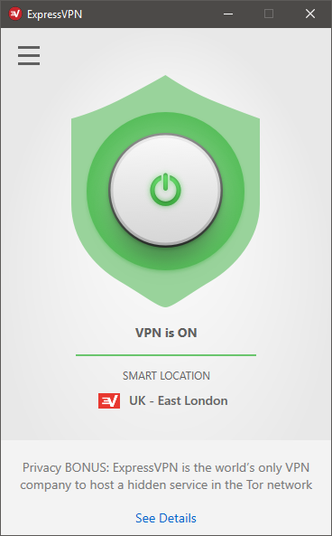 ExpressVPN 6 for Windows