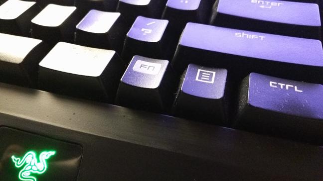 F keys, Fn, keyboard