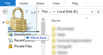 Windows Explorer, File Explorer, Favorites, add, remove, rename, restore