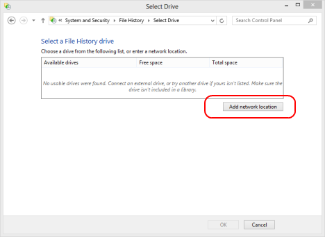 Windows 8 - How to Use File History with Network Drives & Locations to Backup Data