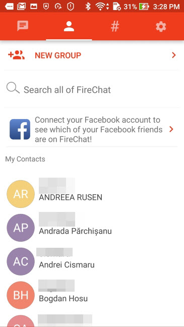 FireChat, Android