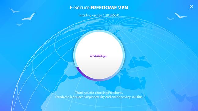F-Secure Freedome, VPN, Windows