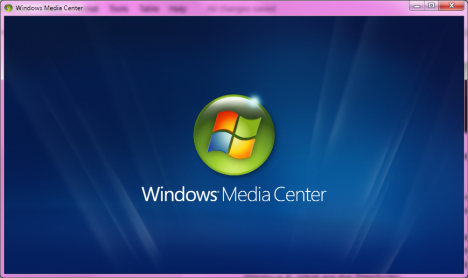 Windows Media Center in Windows 7