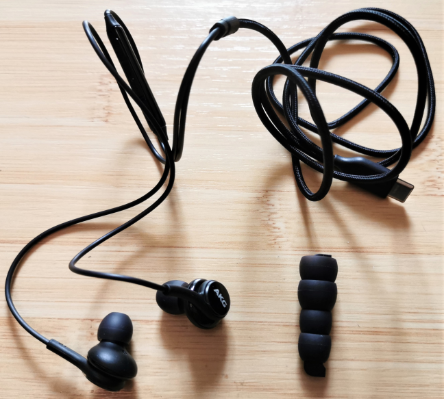 AKG earphones and earbuds