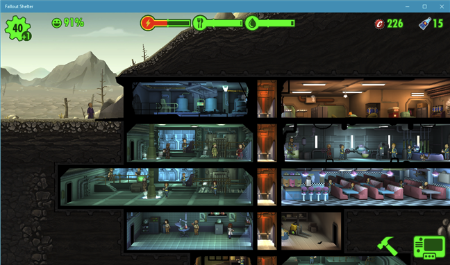 Download free PC game for Windows 10: Fallout Shelter