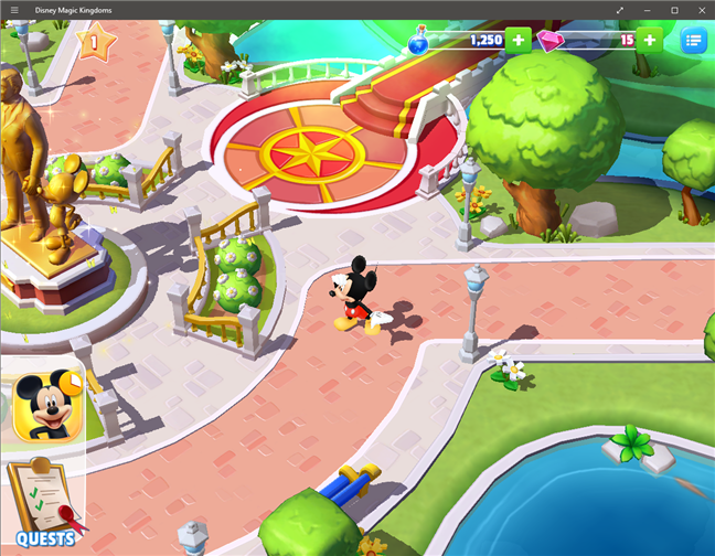 Download free PC game for Windows 10: Disney Magical Kingdoms