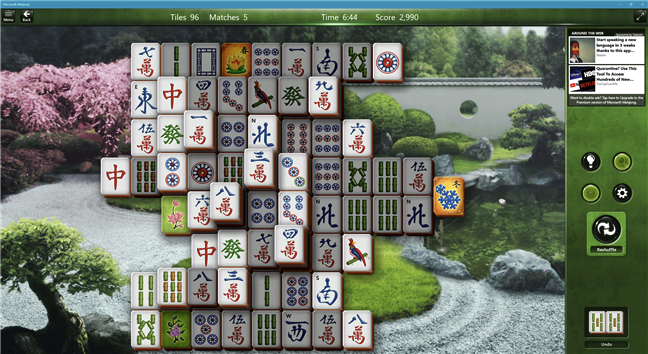 Download free PC game for Windows 10: Microsoft Mahjong