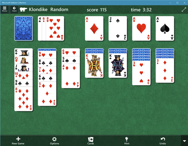 Download free PC game for Windows 10: Microsoft Solitaire Collection
