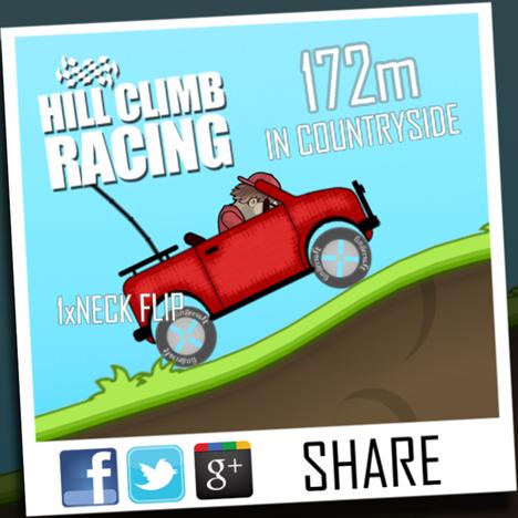 Hill Climb Racing, free, game, Windows 8.1, Windows Store