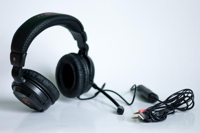 Genius HS-G500V, vibration, gaming, headset