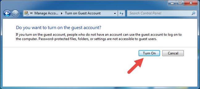 Guest, Windows