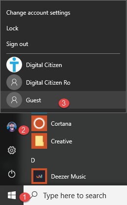 Windows 10, Guest, account, enable, disable, problems