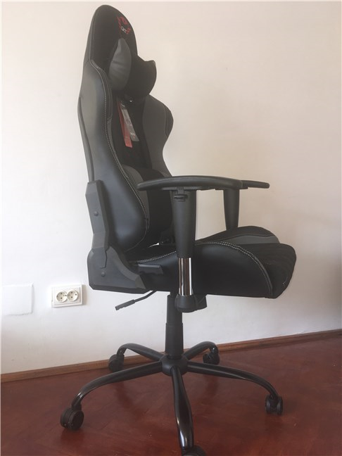 The Trust GXT 707 Resto V2 gaming chair assembled