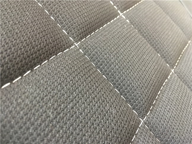 The textile sewings on the Trust GXT 707 Resto V2 gaming chair seat