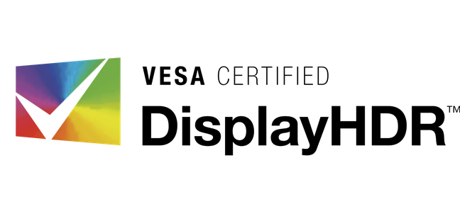 VESA Certified DisplayHDR logo