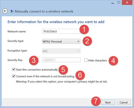 connect, hidden wireless, networks, Windows 8, Windows 8.1