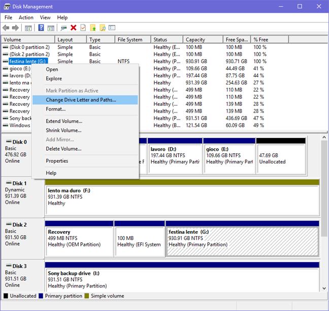 Disk Management, Command Prompt, Windows, partitions