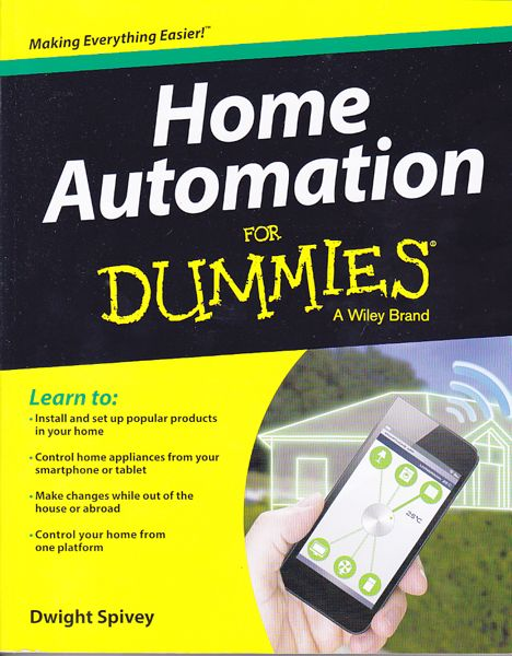 Home Automation for Dummies, book, review