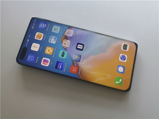 Huawei P40 Pro: OLED display and 90Hz refresh rate