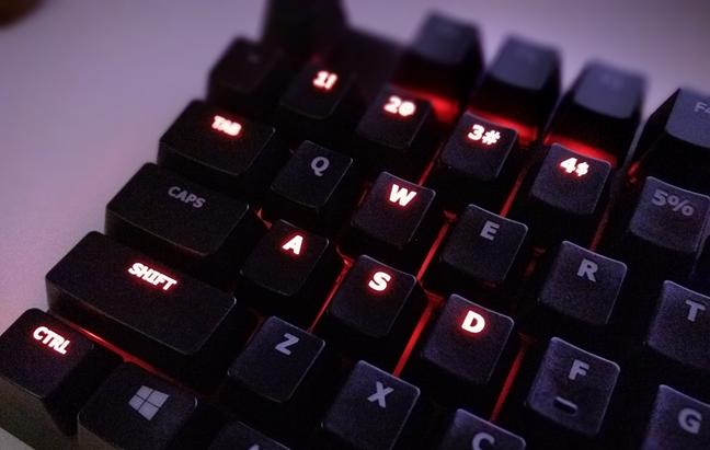HyperX Alloy FPS mechanical gaming keyboard