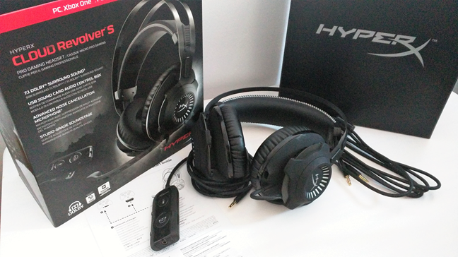 Reviewing the HyperX Cloud Revolver S - Exquisite gaming headset with  cinematic sound | Digital Citizen