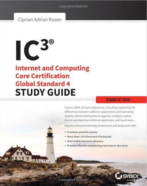 IC3, Global Standard 4, Study Guide, book