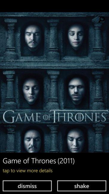 IMDb, Windows Phone, Windows 10 Mobile, app, features, movies, TV, theatres