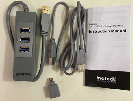 Inateck, HB4009, USB 3.0, port, hub, magic, review, analysis