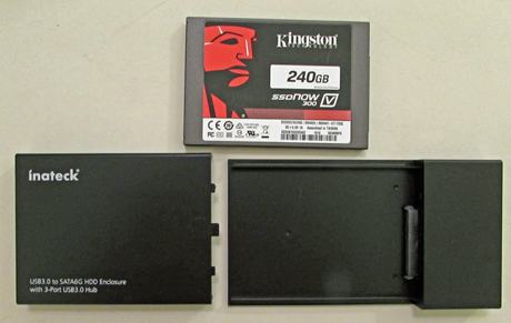 Inateck, USB, HDD, Enclosure, review, test