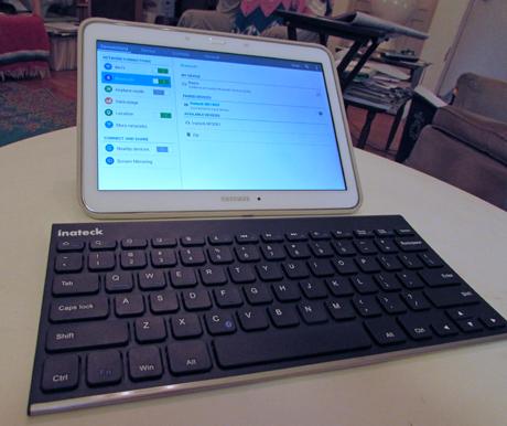 Inateck, BK1003, Bluetooth, keyboard, wireless