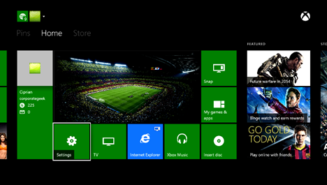 Xbox One, Instant sign-in, automatic, log in