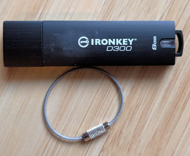 IronKey D300, Kingston, USB, memory, stick, encrypted, drive