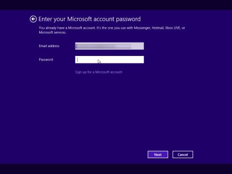 Windows 8 Setup