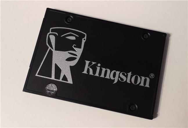 """The Kingston KC600 1 TB 2.5"""" SATA SSD"""