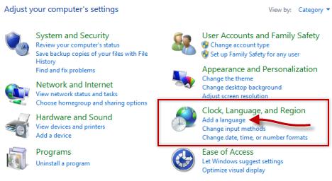 Windows 8, Windows 8.1, Keyboard Input Language, add, remove