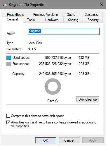 Kingston A400 SSD
