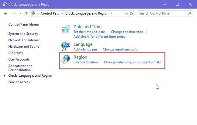 non-Unicode Programs, language, Windows
