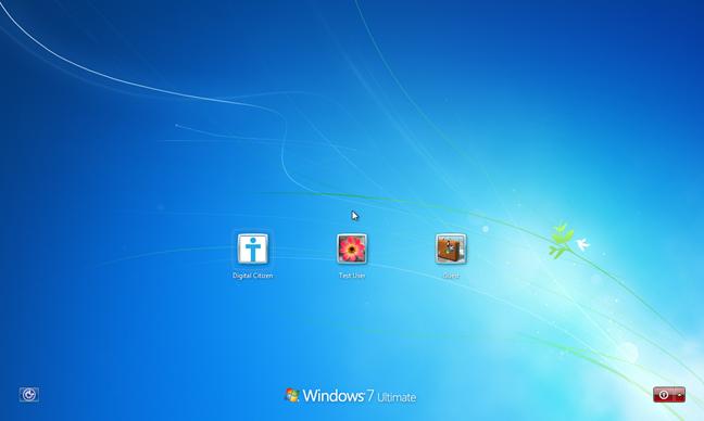 Windows, list users