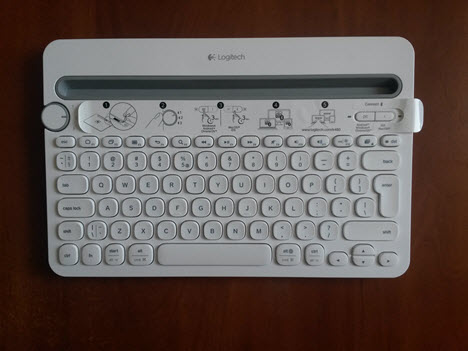 Logitech, Bluetooth, Multi-Device, K480, keyboard