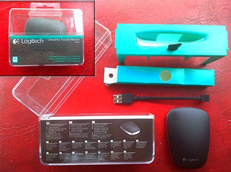 Logitech, T630, mouse, ultrathin, portable, review