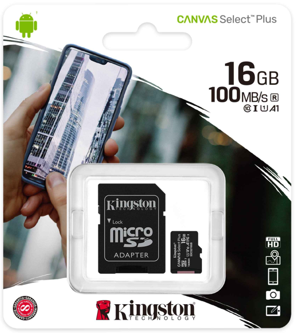 Kingston Canvas Select Plus microSD card