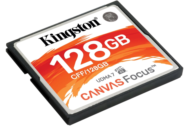 Kingston Canvas Focus CompactFlash card