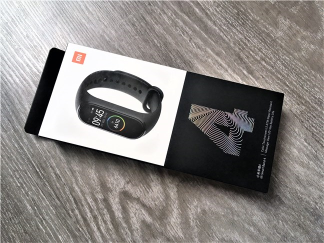 Xiaomi Mi Smart Band 4: The box
