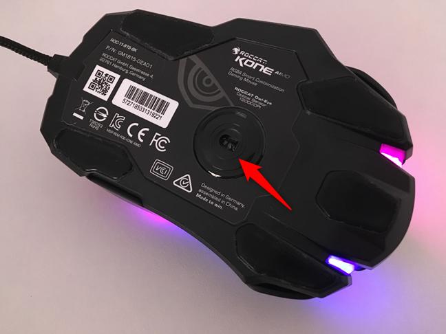 The 12,000 DPI optical sensor found in ROCCAT Kone AIMO